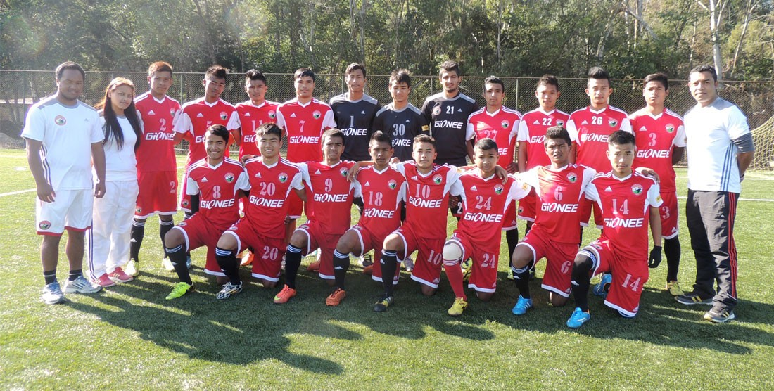 Lajong U19 Team All Set For Under 19 I-League
