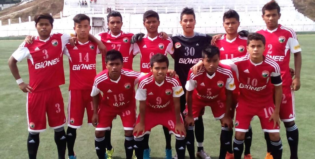 I-League U19:Lajong Juniors Beat Wahingdoh