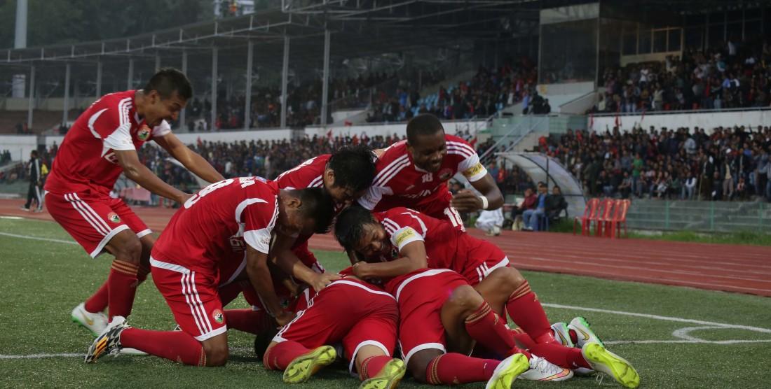 Lajong Beat East Bengal 5-1