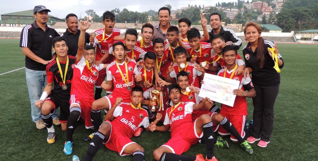 U-19 SPL Champions 2015