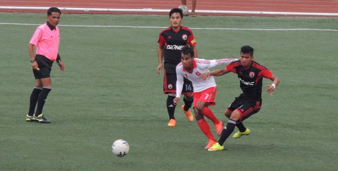 Langsning FC Beat Lajong 2-1