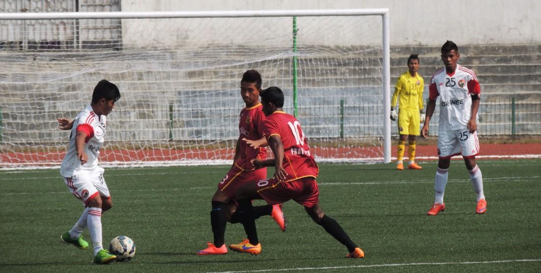 RWFC 0 – 0 SLFC U18 ILeague
