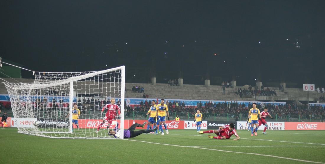 Lajong beat Salgaocar FC 1-0