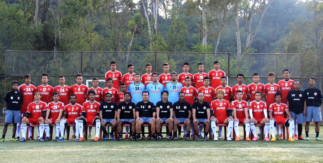 Lajong ILeague Squad '16