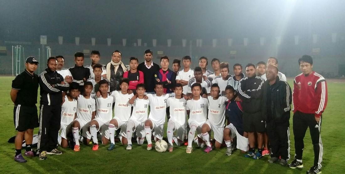 North East XI 1 – 1 India U17 WC Team