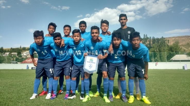 Aenam scores first International goal
