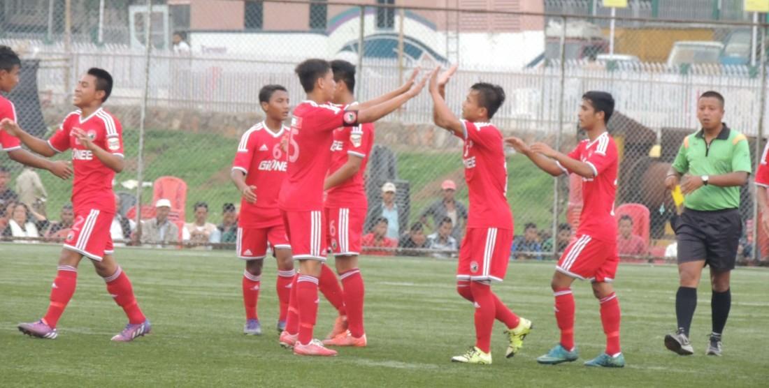 U18 SPL:Lajong beat Rangdajied 6-2