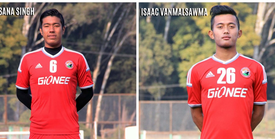 Sana and Isaac In National Team Camp