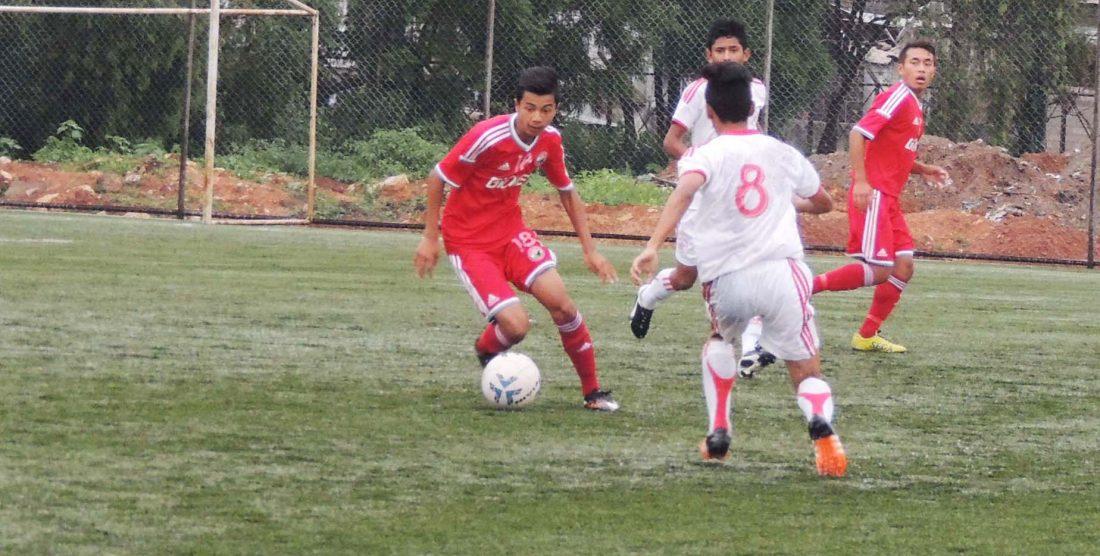 Lajong juniors beat Langsning FC