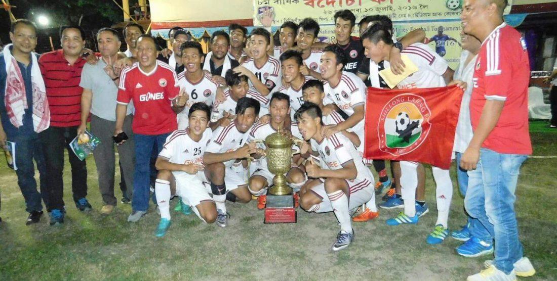 Lajong Win Bodousa Cup 2016