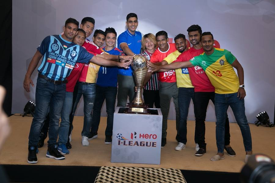 Hero I-League Launched In New Delhi