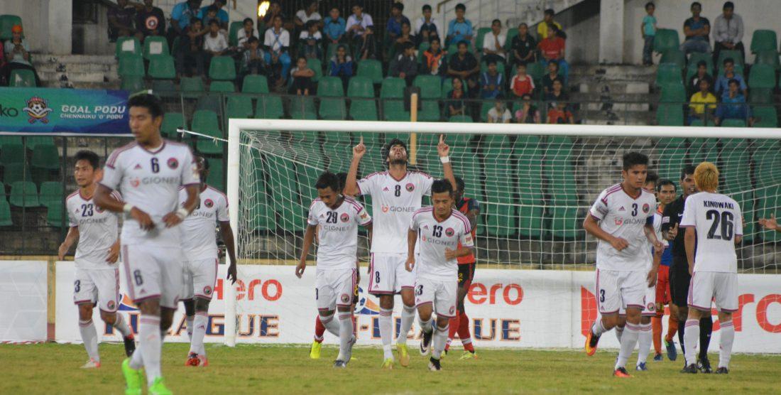 Match Report: Lajong beat Chennai
