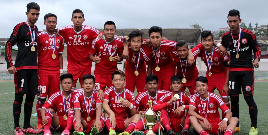 Lajong Juniors Win U18 SPL