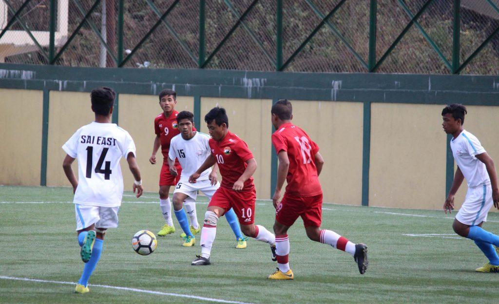 U-13 YL: SAI Beat Lajong Academy