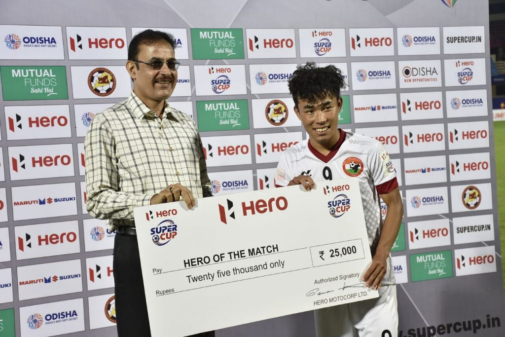 Super Cup:Lajong Beat Pune 3-2