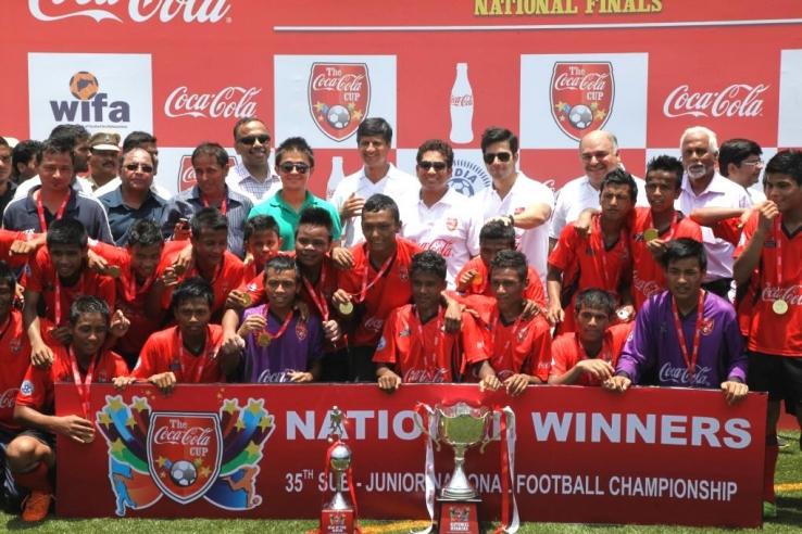 Meghalaya lift coca cola u 16 national championship shillong lajong fc official website - Coca cola championship table ...
