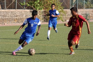 AIFF's U-15 Navi Mumbai Academy defeated ICL, a Mumbai Super Division outfit 8-0 in a Friendly match.