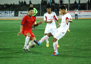 Mizoram (red jersey) vs Manipur (3)